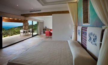Suite Arcipelago Licciola Sea View (58 m² + 24 m² veranda) – Hotel Licciola