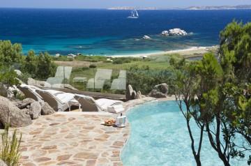 Suite Arcipelago Licciola Sea View (57 m² + 24 m² veranda + bazén se zahradou) – Hotel Licciola
