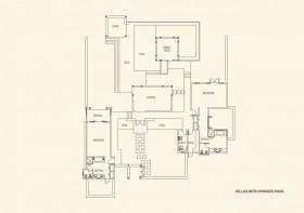 Vila s bazénem - 2 ložnice