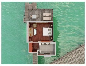 King Overwater Bungalow (62m2)