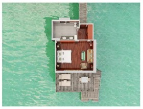 King Premium Panoramic Overwater Bungalow