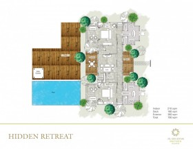 Hidden Retreat - 2 bedrooms
