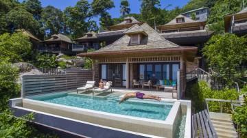 Trojlôžková Grand Ocean View Pool Villa