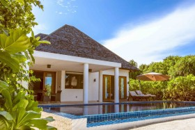 Beach Residence with Plunge Pool (550 m2, 20 rezidencií)