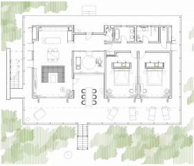Garden Two Bedroom Villa