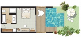 Superior Guestroom Private Pool & Garden