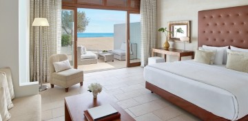 Creta Beach Villas Seafront with Private Heated Pool