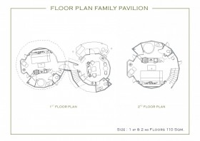 Family Pavilions with Hydro Pool
