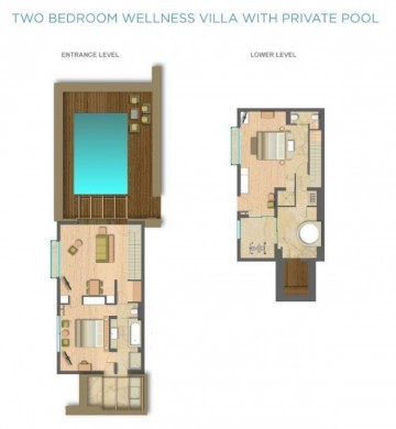 Two Bedroom Wellness Villa with Private Pool