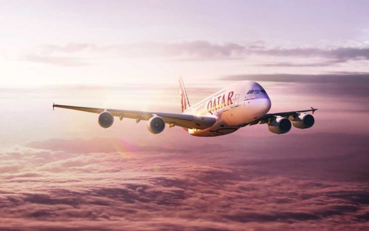 Přestup v Dauhá s Qatar Airways