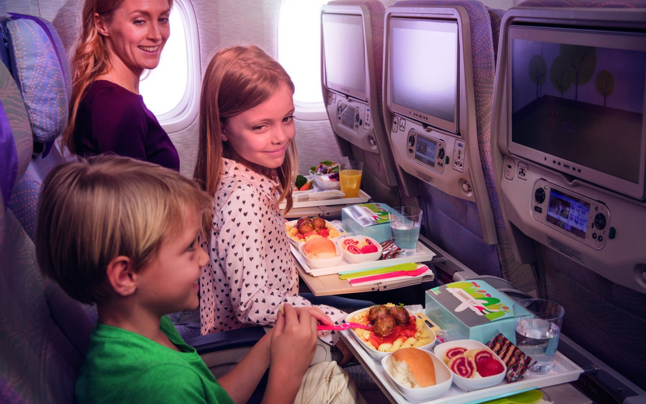 Rodiny s deťmi a letenky v business triede